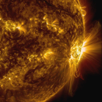 A sunspot in late  produced these incredible coronal loops off the surface of the sun