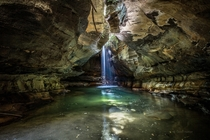 A surreal grotto in the Blue Mountains Australia  by Geoff Hunter