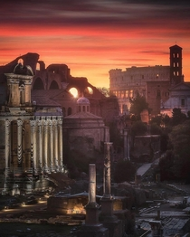 A timeblend from the Roman Forum  mindzeye