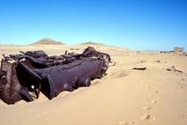 A train sits abandoned in the Arabian desert nearly  years after being ambushed by TE Lawrence Lawrence of Arabia and his infamous rebels x