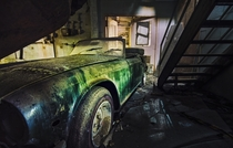A Triumph TR manufactured between  and  in an abandoned chemical testing facility