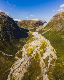 A valley in Fjord Norway last summer - looking forward when this lockdown is over  - more of this region in the comments