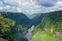 A valley in Kaieteur National Park Guyana
