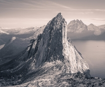 A very interesting mountain This is Segla in Senja Norway
