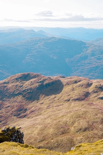 A view from Ben Lomond summit