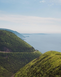 A view from Cabot Trail Nova Scotia Canada