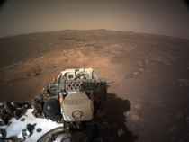 A view from Mars courtesy of the recently landed Perseverance rover