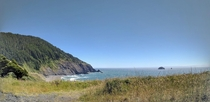 A view from the Oregon Pacific Coast Highway