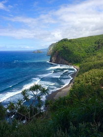 A view I captured yesterday on my hike to Pololu HI