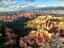 A view of Bryce Canyon from Bryce Point Utah
