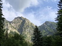A view of Giewont Tatra National Park Poland