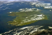 A view of Ireland from the International space station