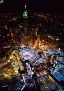 A view of Mecca Saudi Arabia that you might not have seen before