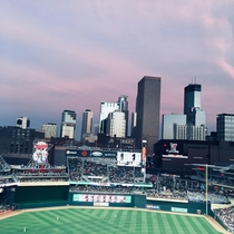 A View of Minneapolis from Target Field