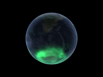 A view of the Aurora Australis as taken by the Imager for Magnetopause-to-Aurora Global Exploration or IMAGE satellite Pic by NASA  IMAGE January