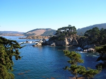 A view of the Pacific at Point Lobos CA  xpost from rSeaPorn