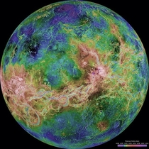 A view of Venus as revealed by more than a decade of radar investigations culminating in the - Magellan mission