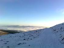 A View Only Winter Can Produce Galtee Vee Valley Ireland