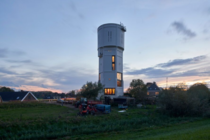 A water tower built in  turned in to a home in the Netherlands