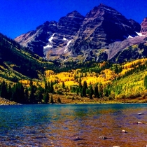 A Week Ago in Maroon Bells Colorado