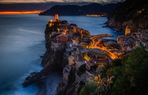 A wonderful Italian village Its Vernazza