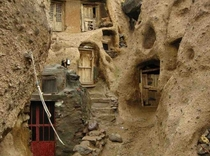 A  year old village in Iran carved out of the rocks