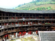A  years old still inhabited tulou in Fujian China more info in comments