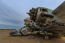 Abandon aircraft at the Gila River Memorial Airport AZ