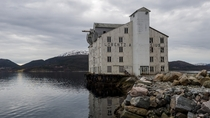 Abandon building in Kristiansund Norway