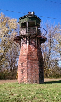 Abandon prison guard tower Iron Spot Ohio