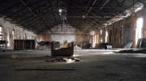 Abandon shipping warehouse - Troy NY - part of Burden Iron Work