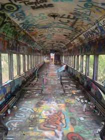 Abandon Train Car Lambertville NJ