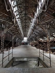Abandonded factory in Cleveland Ohio