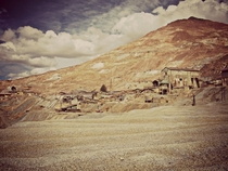 Abandonded ore processing plant in Potosi Bolivia