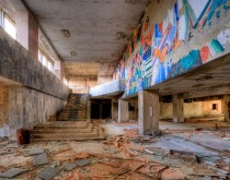 Abandonded Palace of Culture in Pripyat Ukraine