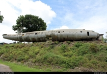 Abandonded plane in Belize  x