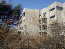 Abandoned agricultural university in Zambia