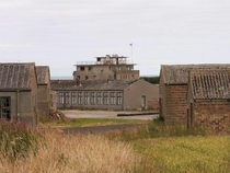 Abandoned Airfield and military base in Crail Scotland Now used only as a makeshift racetrack by bored locals