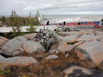 Abandoned Airplane Miss Piggy Churchill Manitoba