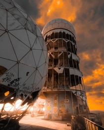 Abandoned American Radio Station from World War  Teufelsberg Berlin ig - susonsjack
