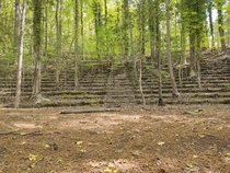 Abandoned amphitheater at the College of William and Mary in Williamsburg VA