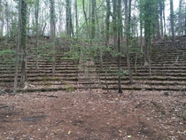 Abandoned amphitheater on the campus of the College of William amp Mary - Williamsburg VA