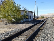 Abandoned Amtrak station Thompson Springs Utah