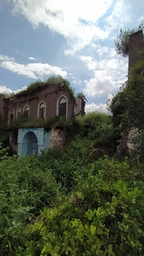 Abandoned ancestral home India
