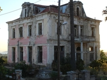 Abandoned and apparently haunted Mansion in Pellion Greece