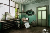 Abandoned and decaying mental asylum in Italy