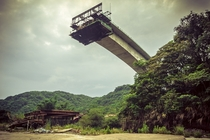 Abandoned and incomplete bridge in Taiwan  by Alexander Synaptic