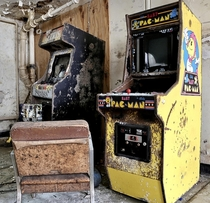 Abandoned Arcade Games
