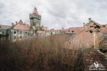 Abandoned army barracks in Hungary Looks a lot like Chateau Miranda RIP in Belgium