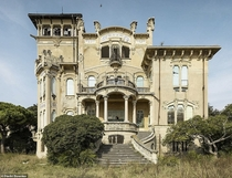 Abandoned Art Nouveau villa in Italy